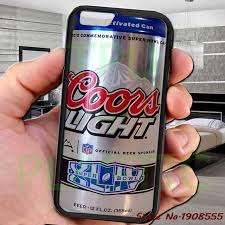 case of coors light coors light logo can brew beer black cell phone case cover for