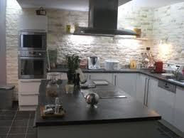 modele papier peint cuisine stunning papier peint cuisine gris pictures amazing house design