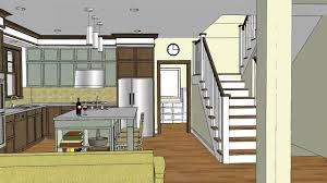 open floor plans narrow lot home act