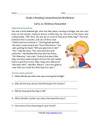 reading comprehension grade 4 worksheets 2nd grade reading comprehension worksheets wallpapercraft