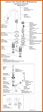 kitchen faucet diagram bathroom sink faucet parts diagram pegasus kitchen