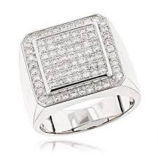 rings mens diamond images Mens 14k rose white or yellow gold designer pinky rings mens jpg