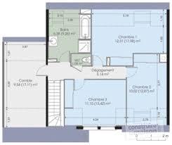 plan de maison a etage 5 chambres plan maison moderne 5 chambres 10 contemporaine d du de