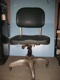 goodform industrial desk office chair 1940s velma vintage