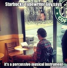 Typewriter Meme - typewriter guy