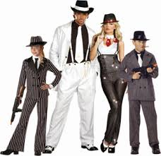 Gangster Costumes Halloween Gangster Family Halloween Costumes Google Halloween