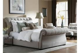 Upholstered King Size Bed Bedroom Upholstered King Size Bed Frame Tufted King Bed