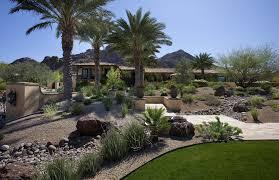 desert landscape ideas southwestern with climbing plants metal