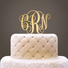 wedding cake toppers initials personalized wooden groom cake topper toccabile