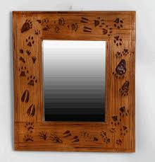 theme mirror rustic style mirror for cabins and lodge themed decor rustic and