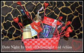 Date Night Basket Date Night In With Kydatenight Ad Building Our Story
