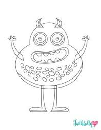 monster coloring pages free printables printable coloring