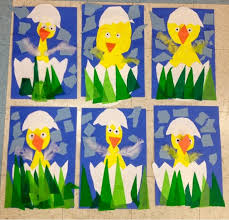 Easter Decorations Kindergarten by Art With Mr Giannetto Kindergarten Chicks Ideas