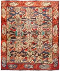 hooked rugs hook rugs antique american hooked carpet collection