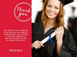 thank you graduation cards graduation thank you smilebox
