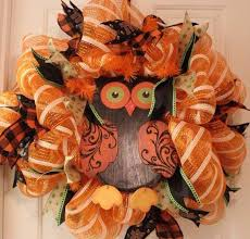 deco mesh ideas beautiful cool fall thanksgiving wreath ideas to make family