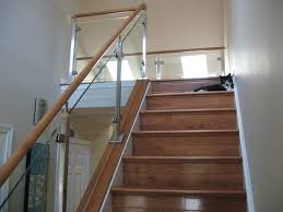 Stair Railings And Banisters Glass Stair Railing Gallery Elegant Glass Stair Railing U2013 Latest