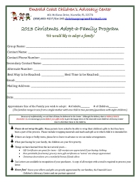 2013 adopt a family sponsor form emerald coast children s advocacy
