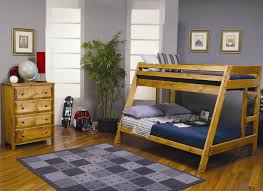 Bunk Bed With Dresser Coaster Wrangle Hill Full Over Full Bunk Bed With Under Bed