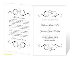 wedding program templates fresh free printable wedding program templates free templatefree