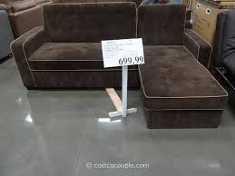 Sleeper Sofa Chaise Sofas Costco Sofa Sleeper To Complete Your Living Space