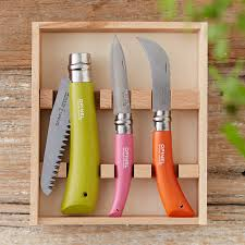 opinel kitchen knives opinel garden knife set terrain