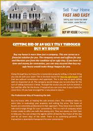 getting rid of an ugly stay through buy my house by michelle jones