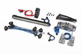 led lights for body shop traxxas 8030 led light set for trx 4 8011 defender body robs rc