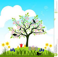 spring bud trees clip art u2013 cliparts