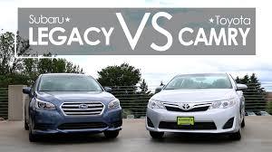 toyota subaru 2015 subaru legacy vs toyota camry model comparison morrie u0027s