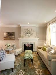 benjamin moore muslin for a beach style family room with a open