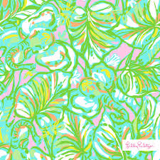 lilly pulitzer elephant ears print printed pinterest