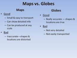 globe and maps worksheet different types of maps powerpoint worksheet by loftin tpt