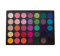 Shades Of Purple Chart by 35b 35 Color Glam Eyeshadow Palette Morphe Us