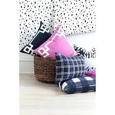 chambre violetta navy deco pillow caitlin wilson pillow navy deco pillow deco chambre