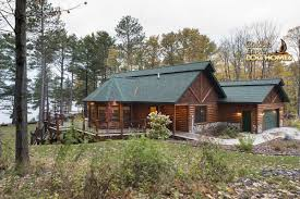 one level home plans golden eagle log homes home cabin pictures photos custom house