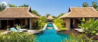 villa style homes thai bali style villas pattaya