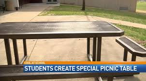 Picnic Benches For Schools Students Create A Wheelchair Accessible Picnic Table U2013 Kd Smart Chair
