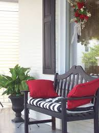 Red And Black Furniture For Living Room by Top 25 Best Painted Benches Ideas On Pinterest Picnic Table