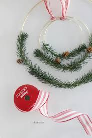 diy bottle brush tree christmas wreath lolly jane