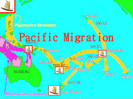 Migration Map Polynesian Migration Map
