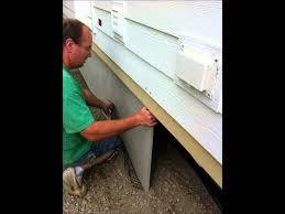 image gallery mobile home skirting panels