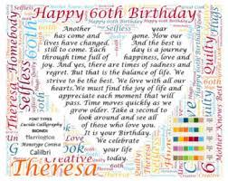 birthday gifts 60 year 60 year birthday etsy
