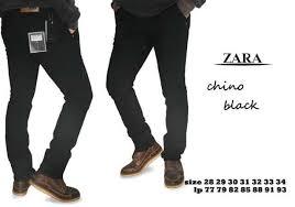 Celana Zara jual celana chino zara hitam cheap and cool