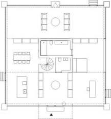 johannes norlander arkitektur house with columns divisare