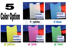 custom gift card holders mulit color card holders sleeve bag vertical pvc name credit