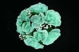 turquoise flowers clearance items silk flowers
