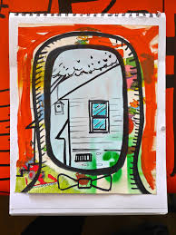 tiny house prints relaxshacks com deek u0027s art at the tiny house jamboree 2016 in