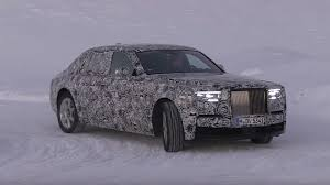 roll royce phantom 2018 2018 rolls royce phantom spied cruising in a winter wonderland