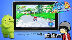 mario android mario on android tablet samsung galaxy tab